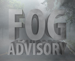 Fog Driving Tips