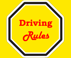 Driving rules in Pakistan