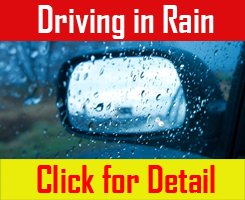 Driving in Rain Safety Tips