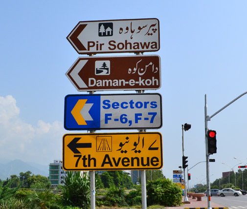 General Road Signs