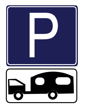Parking Place for Towed Caravans