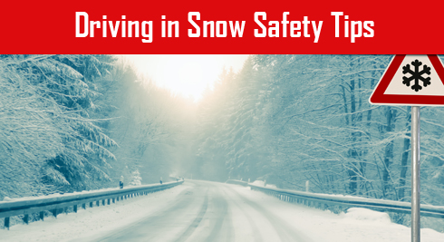 Driving in Snow Safety Tip