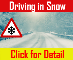 Driving in Snow Safety Tips